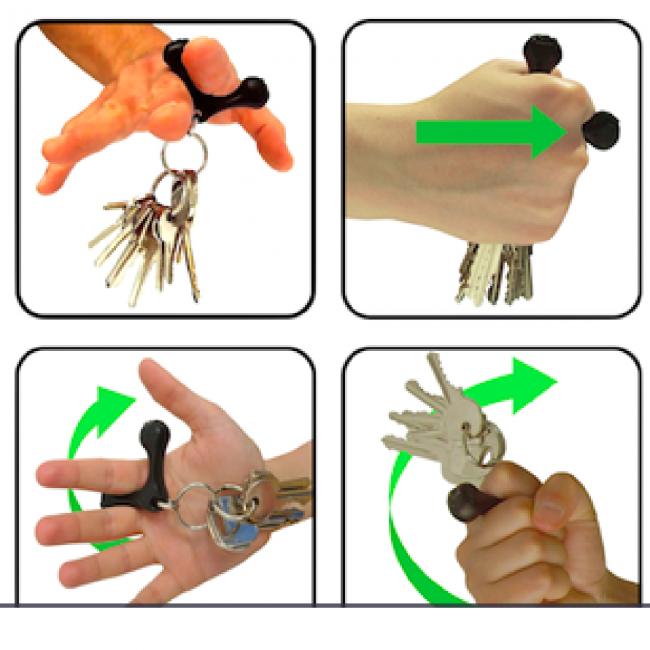 Yoogo comment un simple porte clef peut aider faire face aux agressions et vous n 39 tes pas - Comment faire un porte clef ...