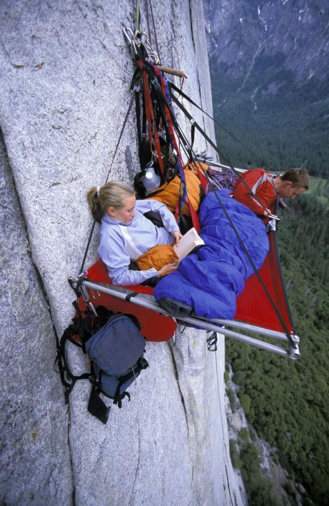 Camping extrême suspendu 1