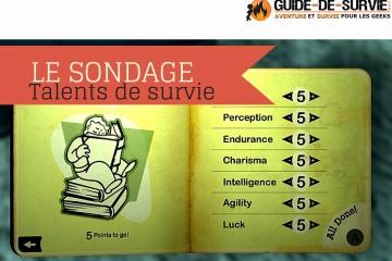 GDS - SONDAGE - Talent de survie