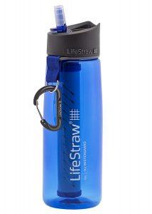 Gourde filtre à eau Lifewtraw