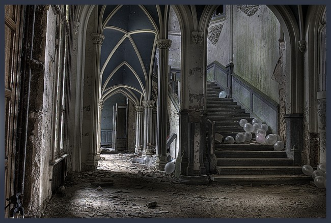 Photographie du collectif Talk Urbex