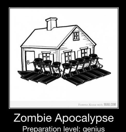 Se préparer à une apocalypse zombies