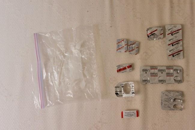 Ibuprofen + Débridat + Decontractyl + Seroplex + Paracétamol + Myolastan + Ciprofloxacine
