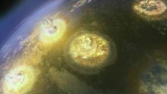 Les radiations et la retombée du nuage nucléaire peuvent vous atteindre.