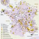 Carte des risques nucléaires