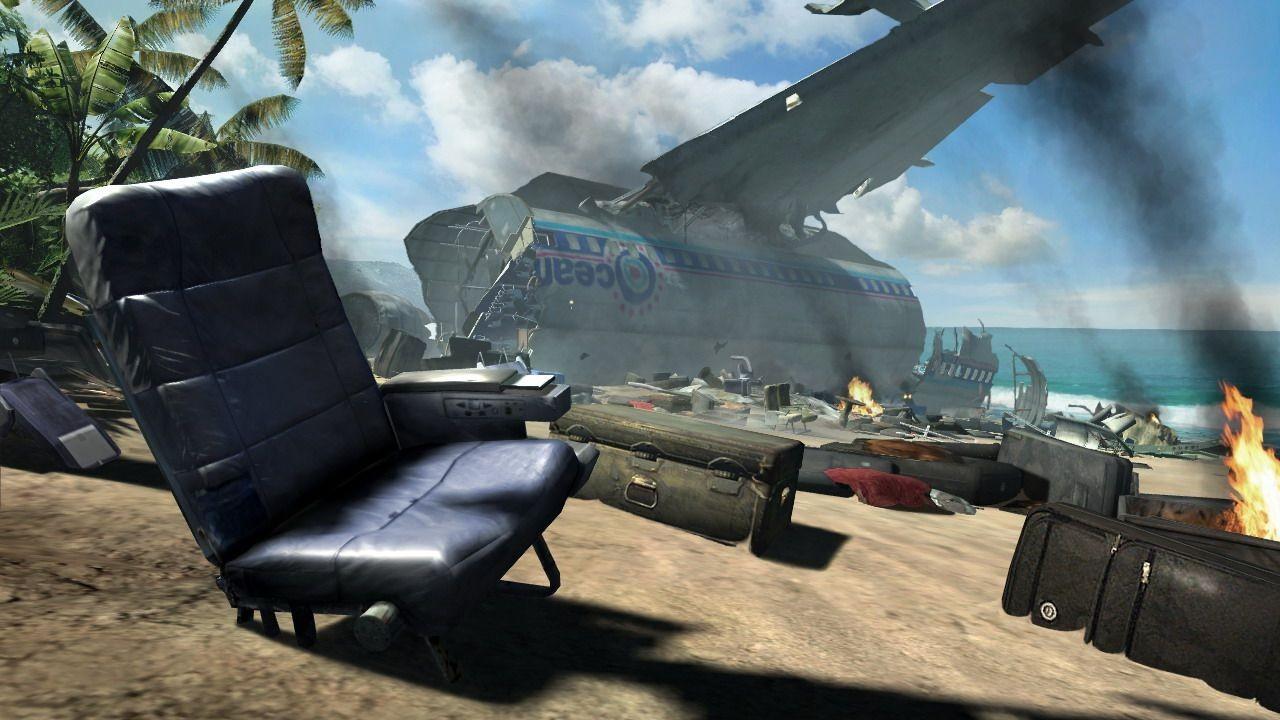 Film Flugzeugabsturz Insel
