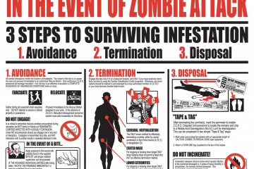 Survivre à une invasion de zombies