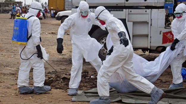 comment ebola se transmet