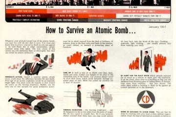 Survivre à une explosion atomique